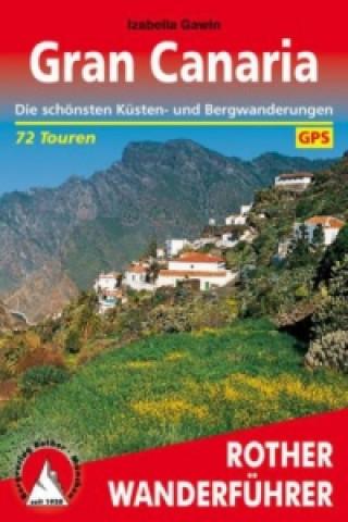 Carte Rother Wanderführer Gran Canaria Izabella Gawin