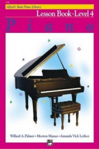 ALFREDS BASIC PIANO COURSE LESSON BOOK 4