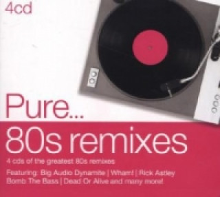 Pure... 80s Remixes, 4 Audio-CDs