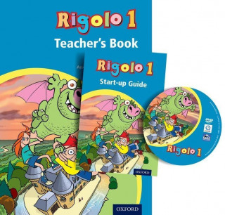 Rigolo 1 Teacher's Book and DVD-Rom: Years 3 and 4: Rigolo 1 Teacher's Book and DVD-Rom
