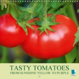 Tasty tomatoes from sunshine yellow to purple (Wall Calendar 2015 300 × 300 mm Square)
