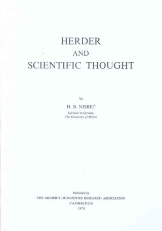 Herder and the Philosophy and History of Science