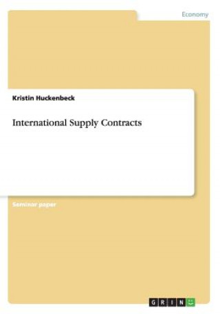 International Supply Contracts
