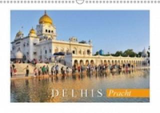 Delhis Pracht (Wandkalender 2015 DIN A3 quer)