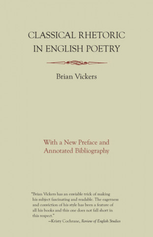 Classical Rhetoric in English Poetry
