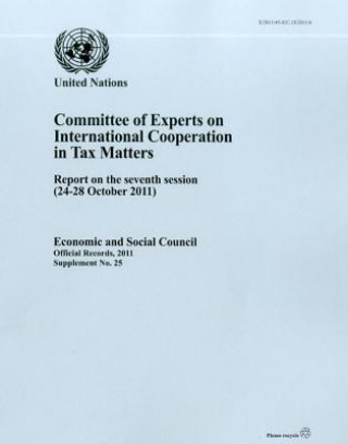 Committee of Experts on International Cooperation in Tax Matters