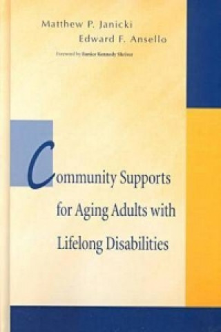 Community Support for Aging Adults with Lifelong Disabilities