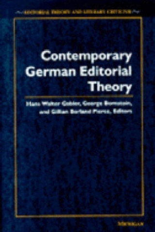 Contemporary German Editorial Theory