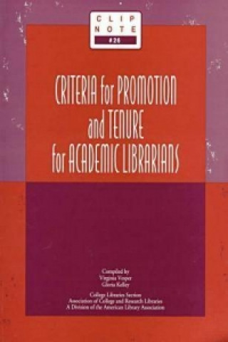 Criteria for Promotion and Tenure for College Librarians