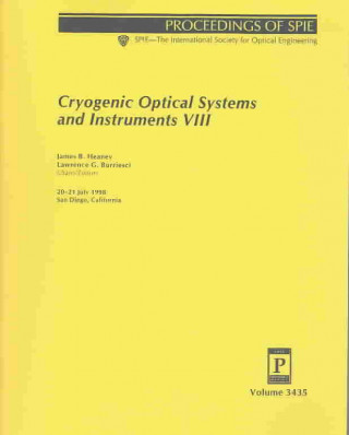 Cryogenic Optical Systems and Instruments VIII