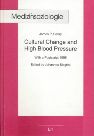 Cultural Change and Blood Pressure