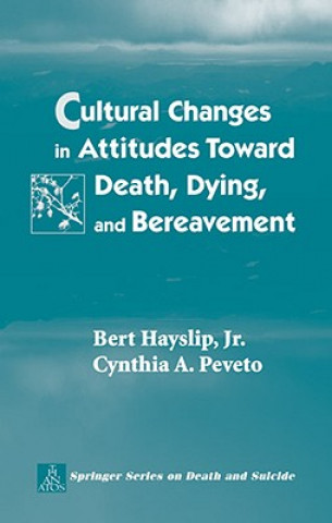 Cultural Changes in Attitudes Toward Death, Dying, and Bereavement