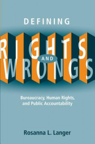 Defining Rights and Wrongs