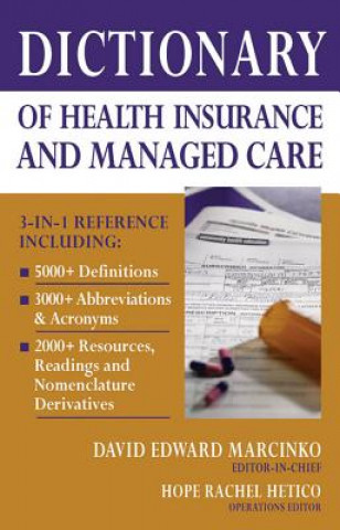 Dictionary of Health Economics and Finance