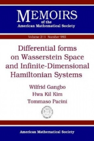 Differential Forms on Wasserstein Space and Infinite-Dimensional Hamiltonian Systems