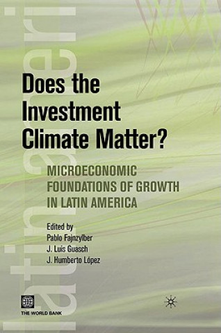 Does the Investment Climate Matter?