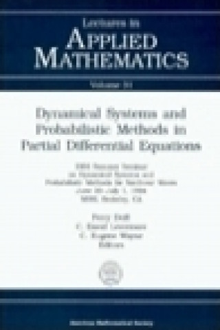 Dynamical Systems and Probabilistic Methods in Partial Differential Equations