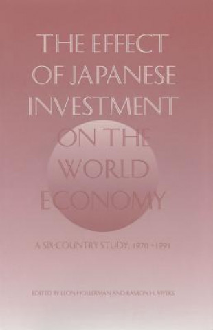 Effect of Japanese Investment on the World Economy