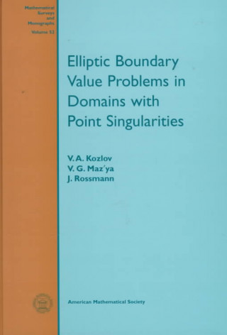 Elliptic Boundary Value Problems in Domains with Point Singularities