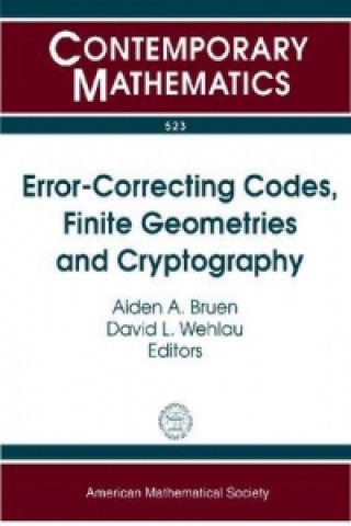 Error-Correcting Codes, Finite Geometries and Cryptography