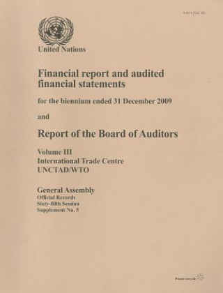 Financial Report and Audited Financial Statements for the Biennium Ended 31 December 2009 and Report of the Board of Auditors, Volume 3