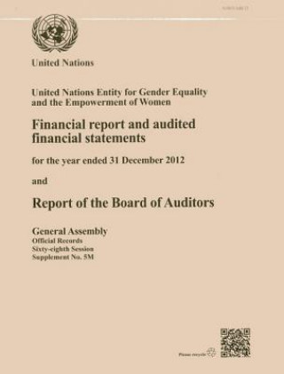 Financial Report and Audited Financial Statements for the Biennium Ended 31 December 2012 and Report of the Board of Auditors