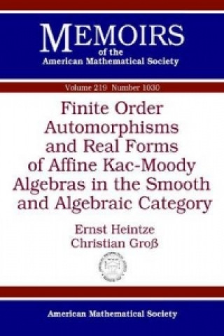 Finite Order Automorphisms and Real Forms of Affine Kac-Moody Algebras in the Smooth and Algebraic Category