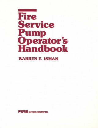 Fire Svc Pump Operators' Handbook