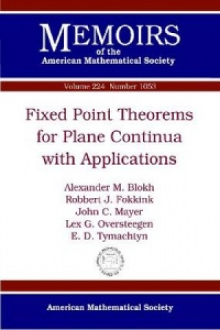 Fixed Point Theorems for Plane Continua with Applications