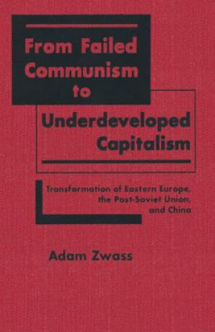From Failed Communism to Underdeveloped Capitalism