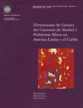 Gender Dimensions of Alcohol Consumption and Alcohol-related Problems in Latin America and the Caribbean