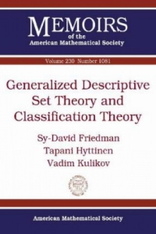 Generalized Descriptive Set Theory and Classification Theory