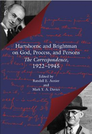 Hartshorne and Brightman on God, Process and Persons