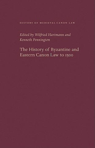 History of Byzantine and Eastern Canon Law to 1500