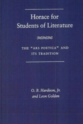 Horace for Students of Literature