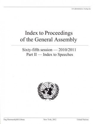 Index to Proceedings of the General Assembly