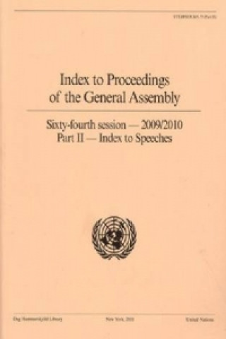 Index to Proceedings of the General Assembly 2009/2010