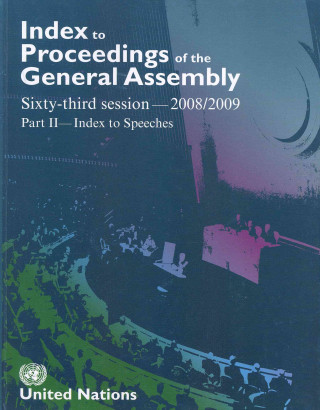 Index to Proceedings of the General Assembly 2009-2010