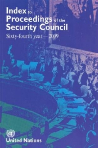 Index to Proceedings of the Security Council 2009