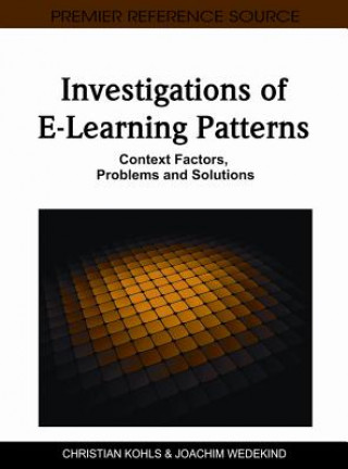 Investigations of E-learning Patterns