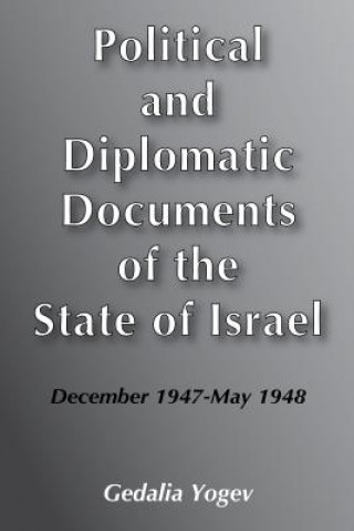 Political and Diplomatic Documents of the State of Israel