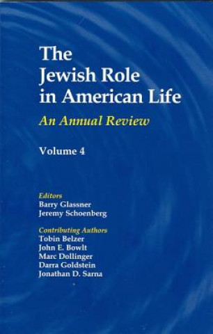 Jewish Role in American Life
