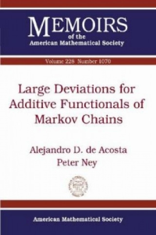 Large Deviations for Additive Functionals of Markov Chains