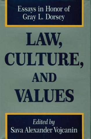 Law, Culture and Values