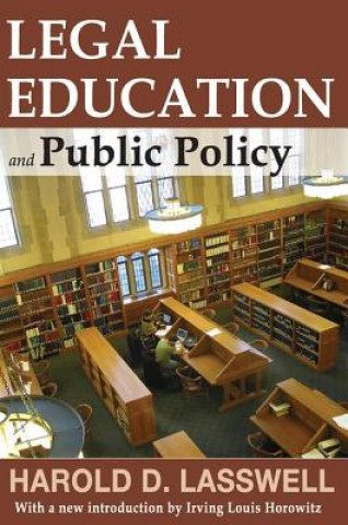 Legal Education and Public Policy