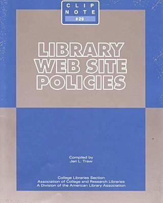 Library Web Site Policies
