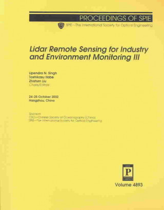 Lidar Remote Sensing for Industry and Environment Monitoring