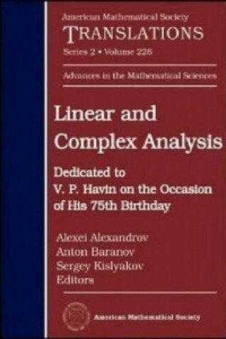 Linear and Complex Analysis