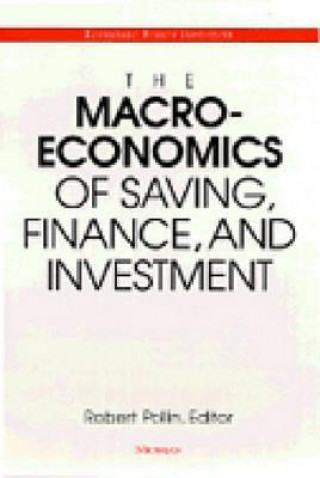 Macroeconomics of Saving, Finance, and Investment