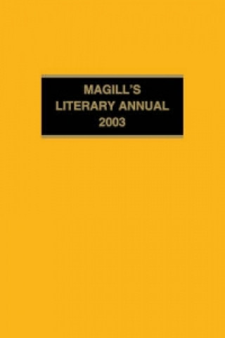 Magill's Literary Annual 2003